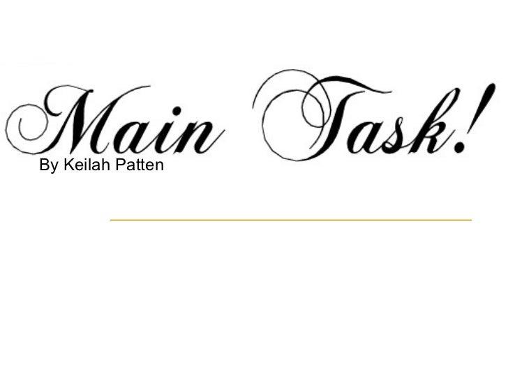 Main taskkk