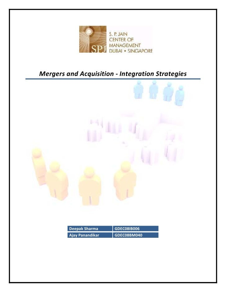M&A Integration Strategies