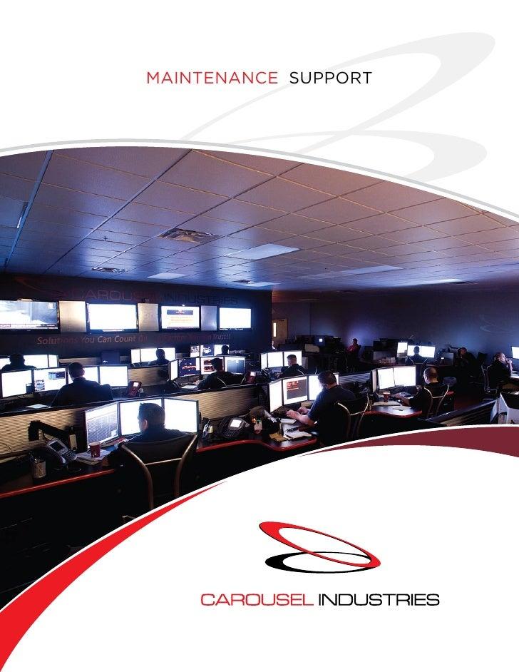 Maintenance Support Brochure 3 16 09