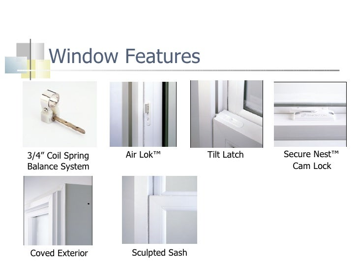Foam Filled Window Frames