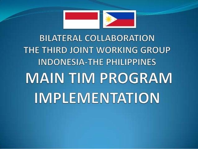 Main Tim Program Implementation 23 24 april 2014