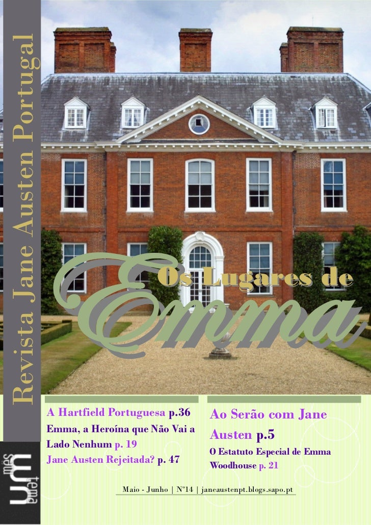 Revista Jane Austen Portugal (maio/junho)