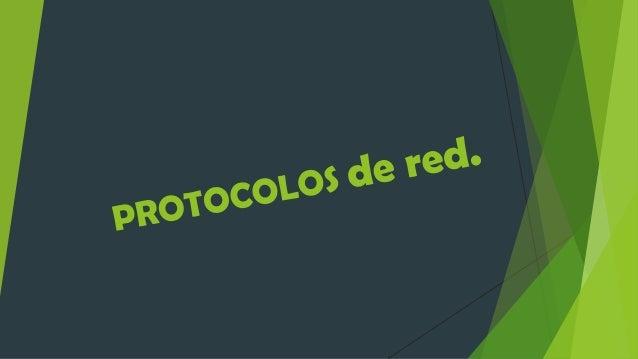 ¿Qué son los Protocolos de Red?