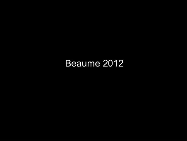 Beaume 2012