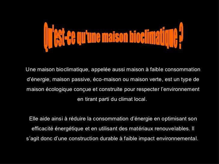 Maison bioclimatique d finition images - Maison bioclimatique definition ...