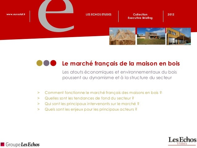 www.eurostaf.fr                           LES ECHOS ETUDES        Collection        2012                                  ...