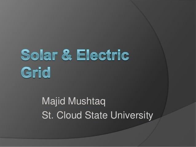 Majid Mushtaq St. Cloud State University