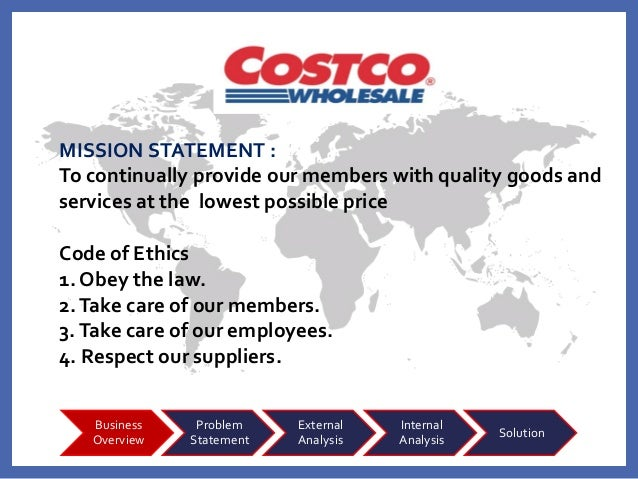 costco wholesale corporation mission business model and strategy