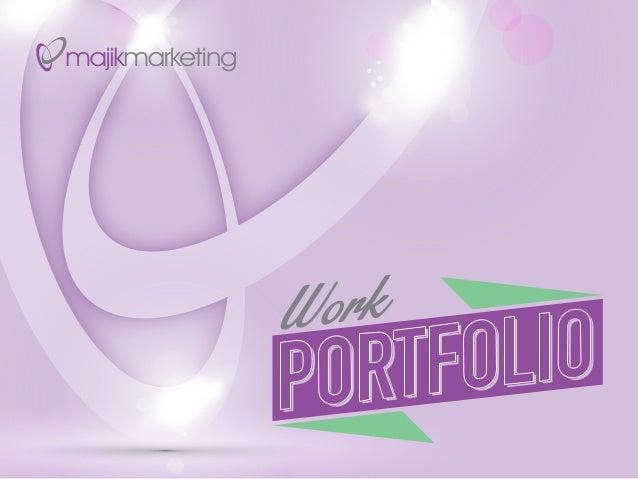Majik marketing portfolio