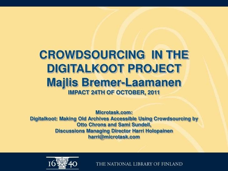 IMPACT Final Conference - Majlis Bremer Laamanen
