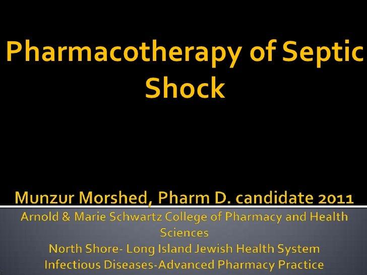 Major Case Presentation Septic Shock