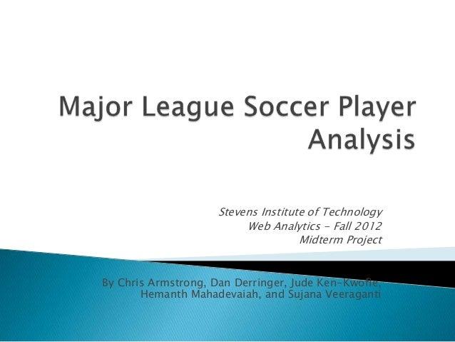 Stevens Institute of Technology                          Web Analytics - Fall 2012                                     Mid...