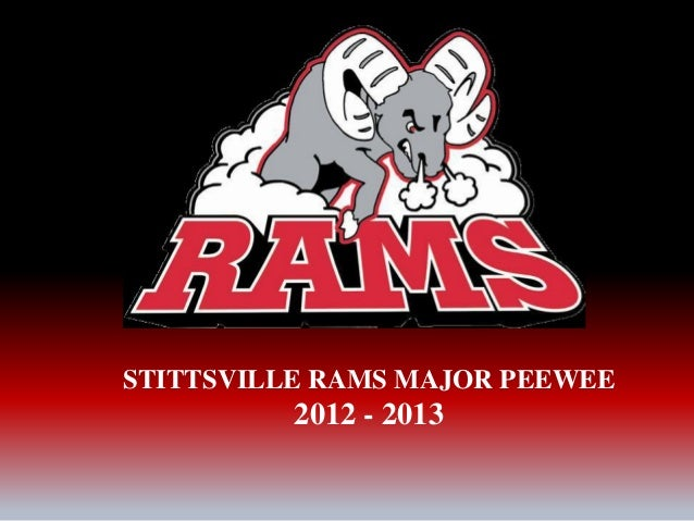 STITTSVILLE RAMS MAJOR PEEWEE2012 - 2013