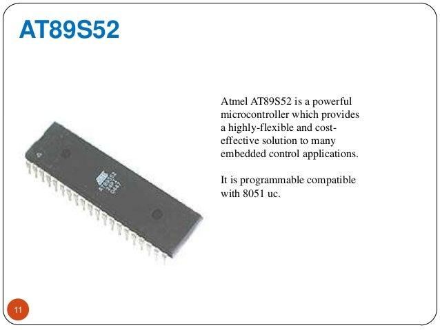 Heart Beat Monitor Using At89s52 Microcontroller