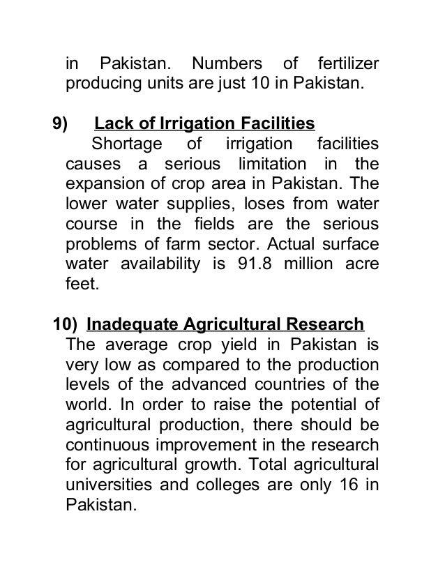 major problems of pakistan essay