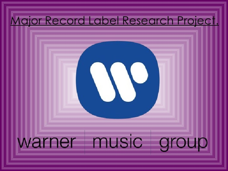 Major record label research project