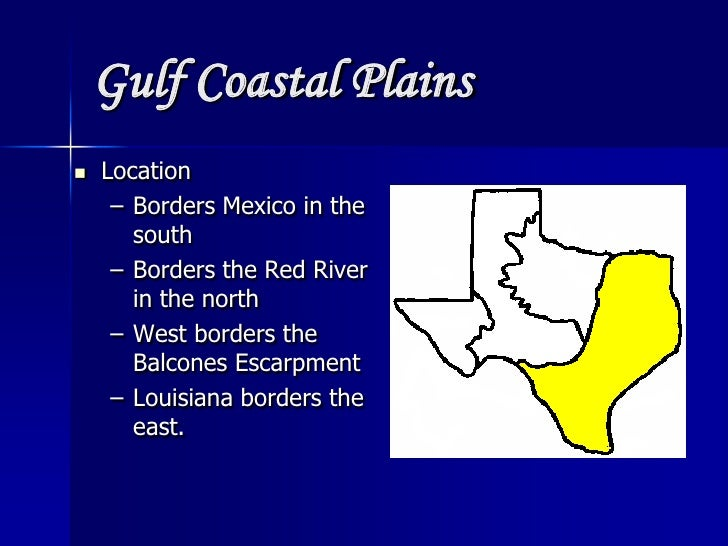 East Gulf Coastal Plain Louisiana Gulf Coastal Plains