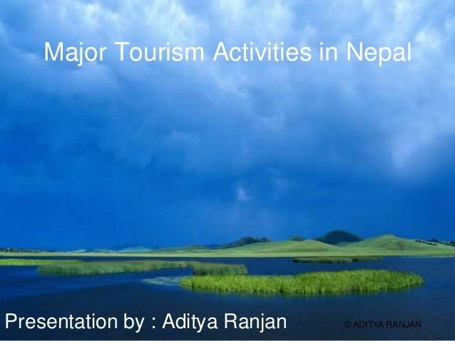 Adventure tourism activities in nepal