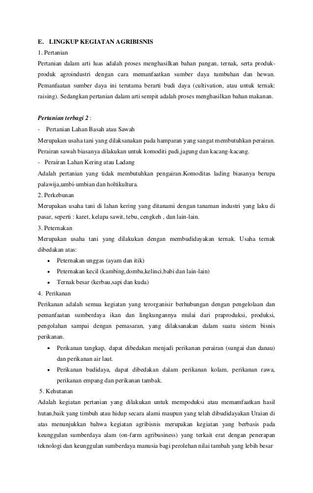 Model Dan Strategi Pengembangan Pertanian Agribisnis Siti Sofingah