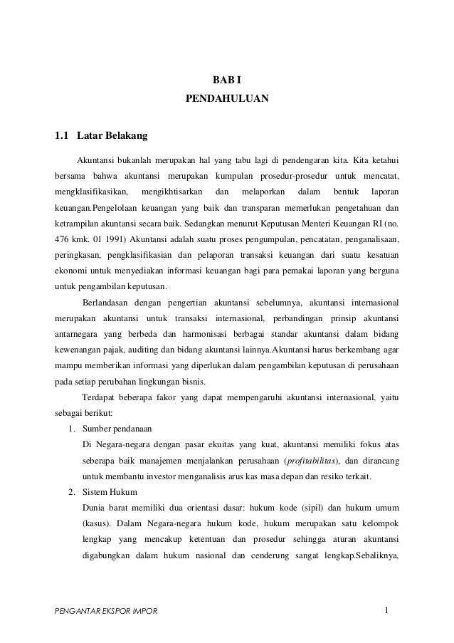 Makalah akuntansi internasional kel. ii defisit ekspor impor indonesia china (jiantari c 301 09 013)