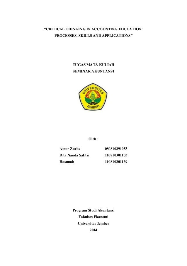 critical review jurnal ilmiah
