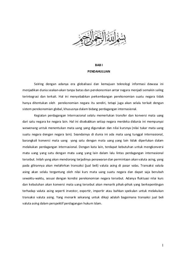 Forex trading menurut islam