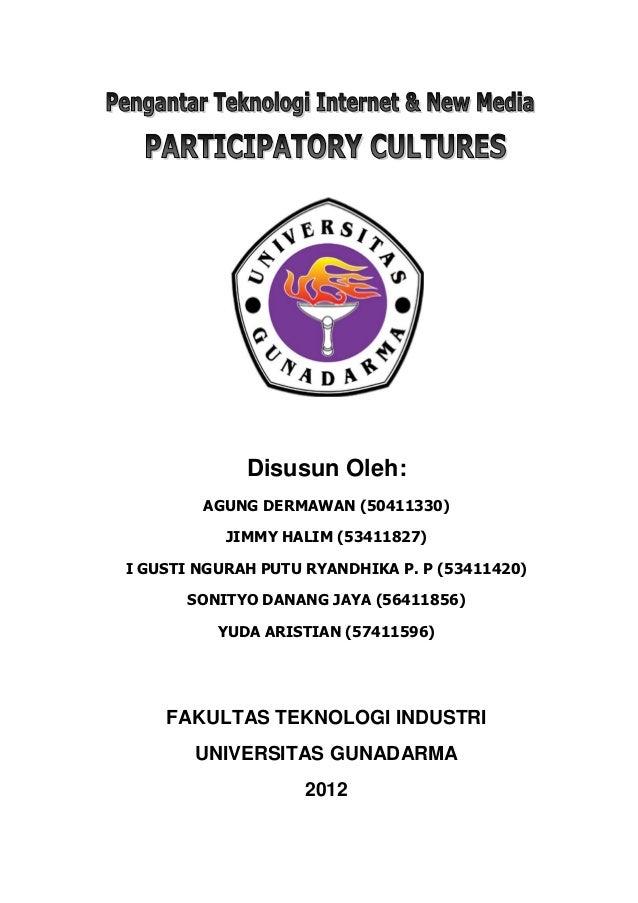 Makalah PTINM - Participatory Cultures