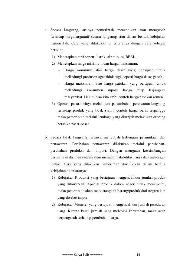 peran pemerintah dalam perekonomian pdf free