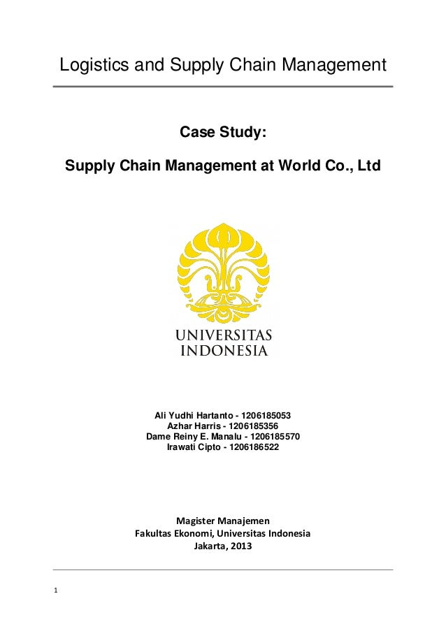 scm globe assignment exploring other supply Supply chain management today, business success often depends on the efficient management of the flow of goods across the global market place –a process.