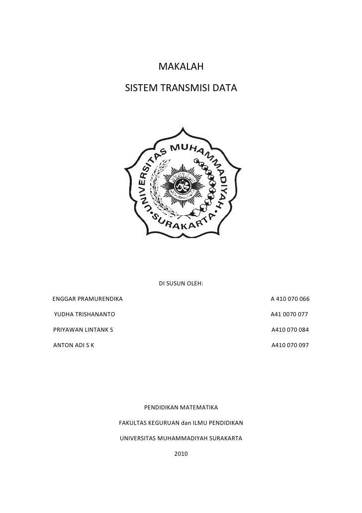 Makalah transmisi data
