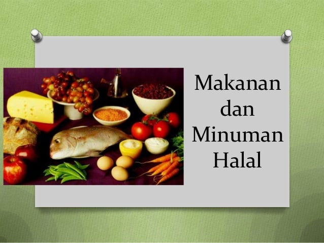 Makanan  danMinuman Halal