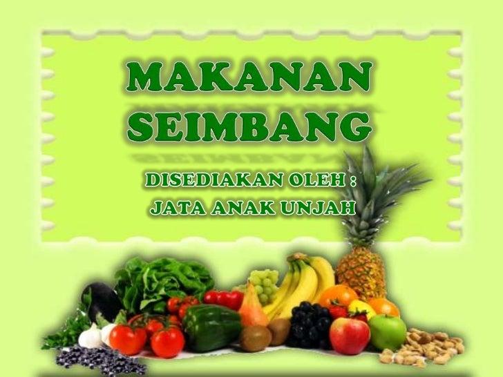 Makanan seimbang 2