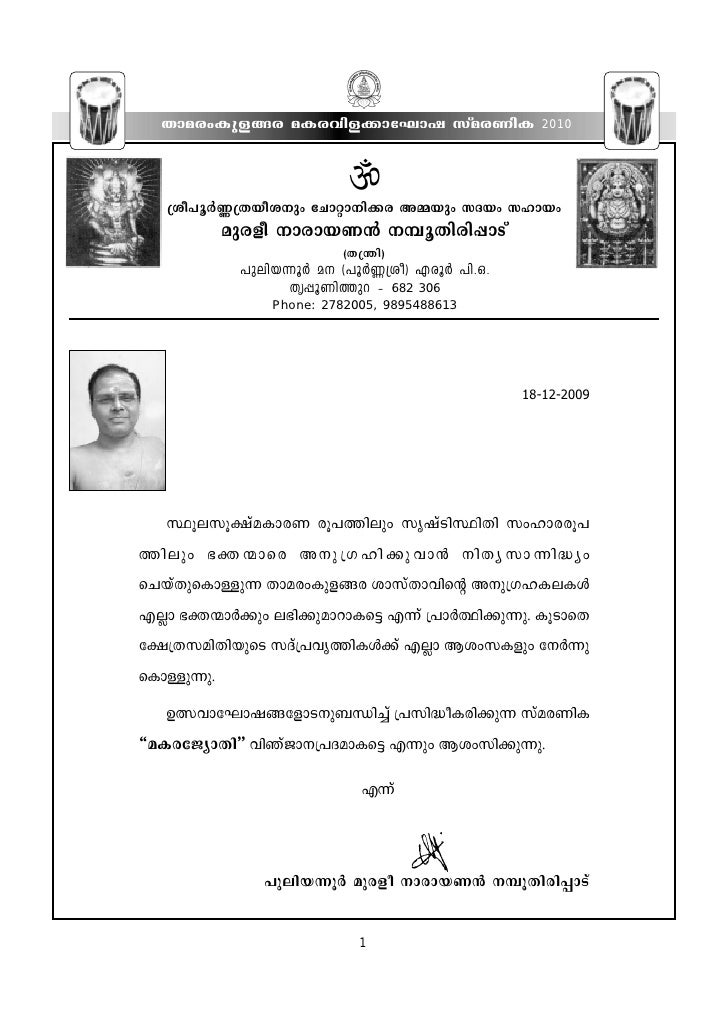 Makarajyothi 2010.