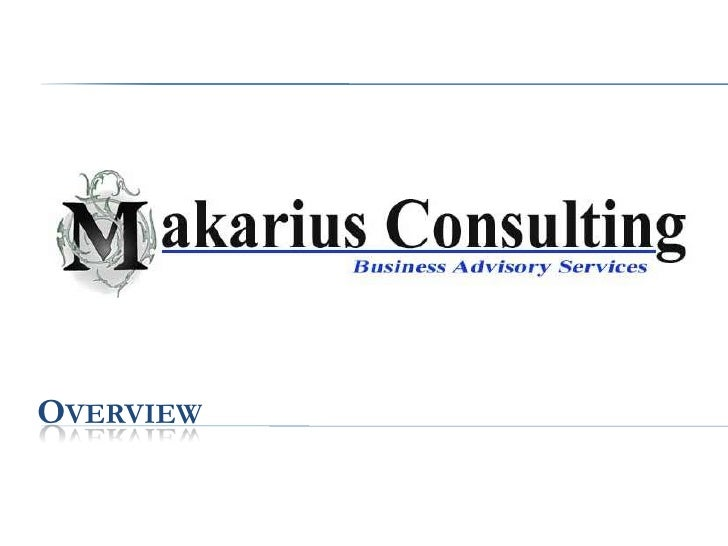 Makarius Consulting Overview