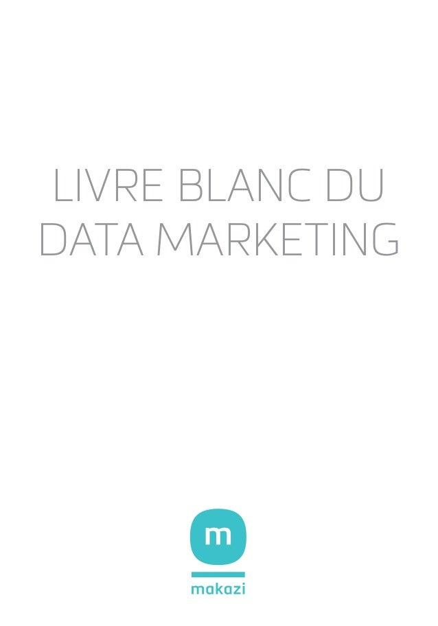 Livre Blanc du DATA MARKETING