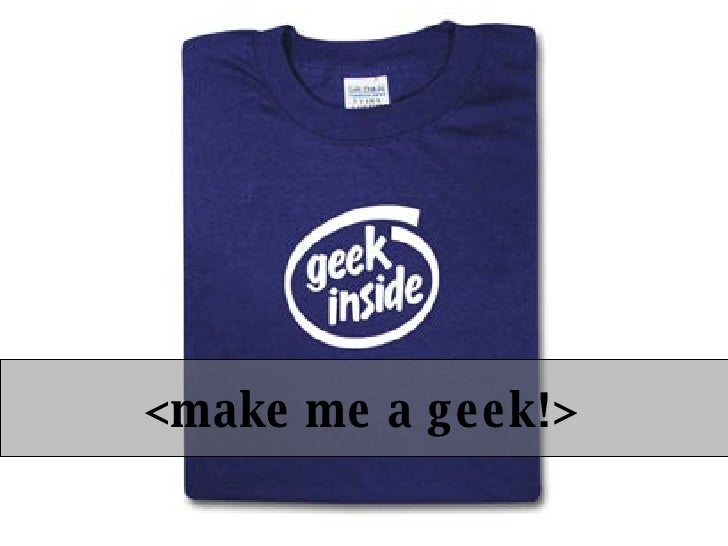 Make Me A Web 2.0 Geek!