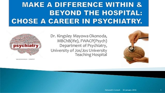 make a difference within  u0026 beyond the hospital chose a career in psyc u2026