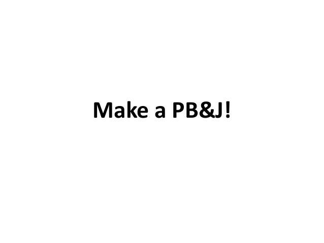 how to make pb and j