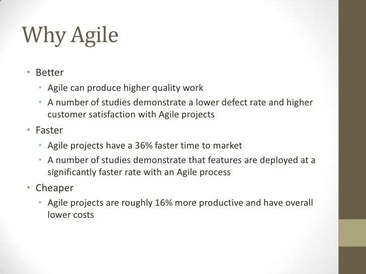 Make better share point stuff with an agile methodology for Why agile is better than waterfall