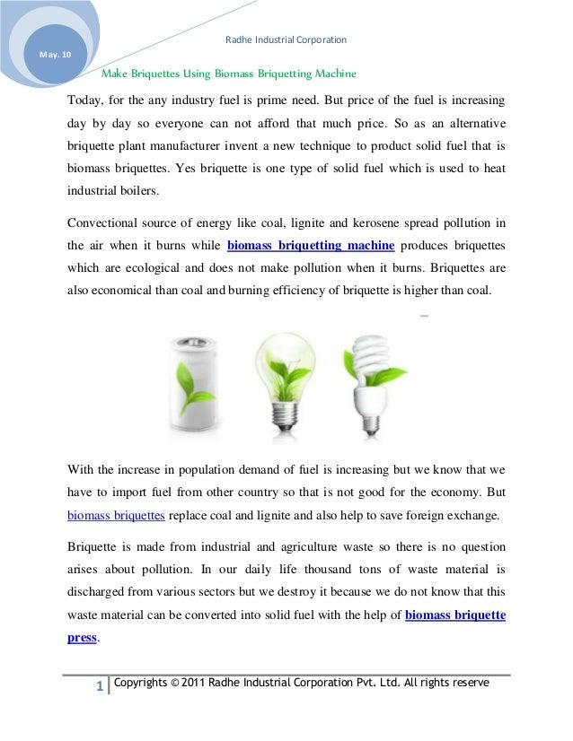 Radhe Industrial Corporation 1 Copyrights © 2011 Radhe Industrial Corporation Pvt. Ltd. All rights reserve May. 10 Make Br...