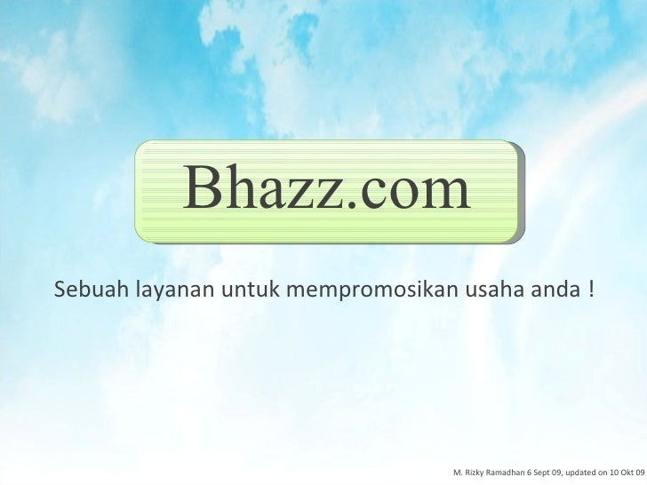 Make powerful company profile, in www.bhazz.com