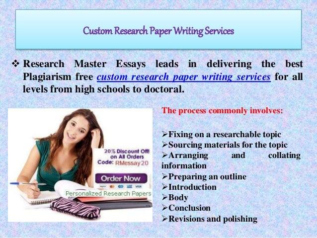 Custom Written Research Paper