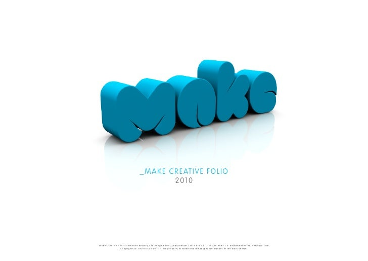 _MAKE CREATIVE FOLIO                                                                                                      ...