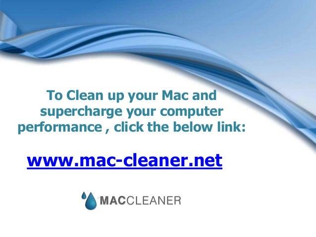 Make Mac Run Faster