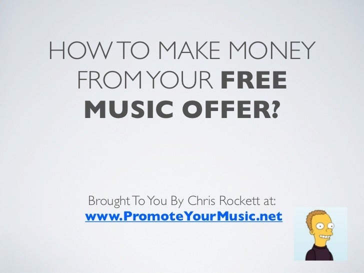 Make Money As A Musician