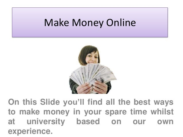 make money online easy and fast jobs online