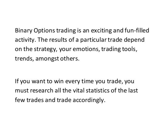 60 second trading tips