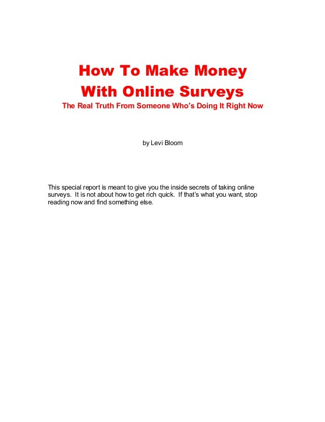 how to get money right now online