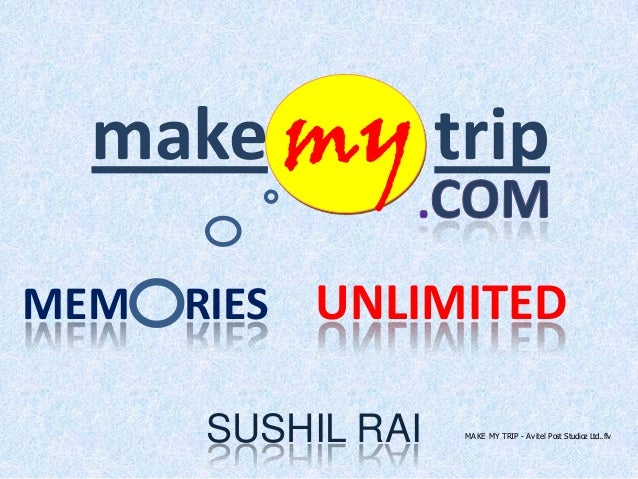 Make My Trip - Successful Journey!!!!