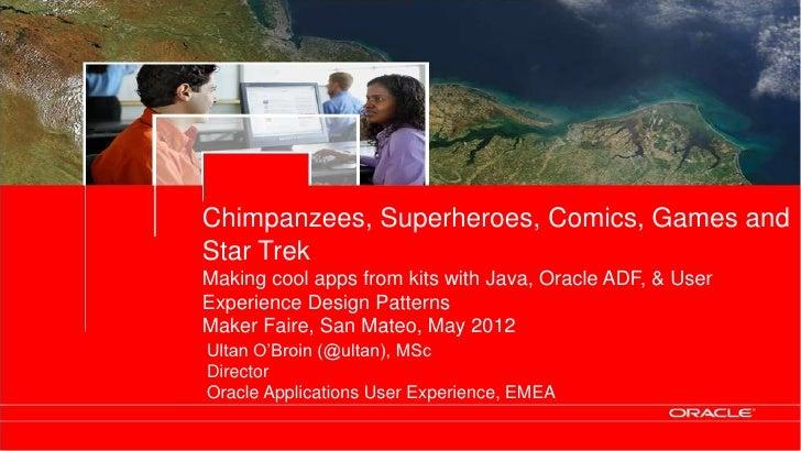 Chimpanzees, Superheroes, Comics, Games and                                                Star Trek                      ...